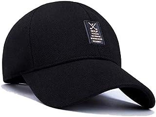 Summer Man Leisure cap Outdoor Baseball Caps Adjustable Hat Black