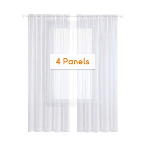 2 panel sheer curtains - 8