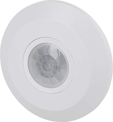 Infrarood Mini Slim plafond bewegingsmelder 360 ° - Ø102x25mm - geschikt voor LED - 1W-800W 230V