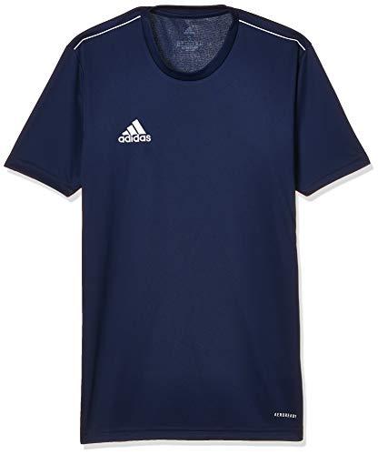 adidas CORE18 JSY T-Shirt, Hombre, Dark Blue/White, L