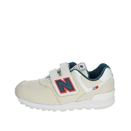 New Balance Scarpa Kids Lifestyle 574 Grey Syntetic/Textile (Numeric_34_Point_5)