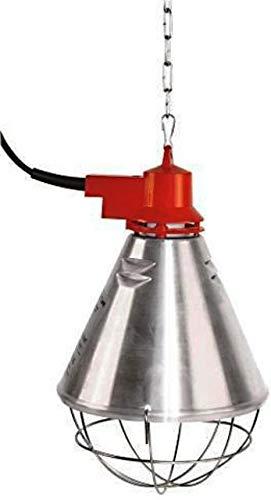 Kerbl 225283 Profi Wärmestrahlgerät Alu mit 3 Fach Sparschalter, 2.5 m
