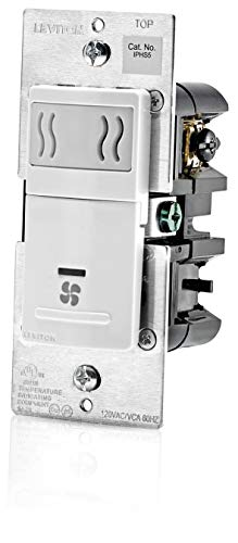 Leviton IPHS5-1LW, 3A, Single Pole, White - 1 Pack