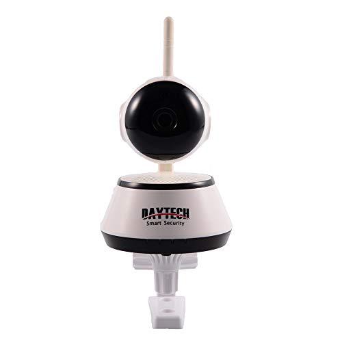 Camaras De Vigilancia Daytech Home Security IP Camera Wireless WiFi Cámara Vigilancia 1080P/720P Visión Nocturna CCTV Baby Monitor Dt-C8815 Blanco