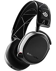 SteelSeries Arctis 9 - Podwójny bezprzewodowy zestaw słuchawkowy do gry - Bezprzewodowa sieć Bluetooth o częstotliwości 2,4 GHz - Ponad 20 godzin działania akumulatora - Do PC, PlayStation, Bluetooth