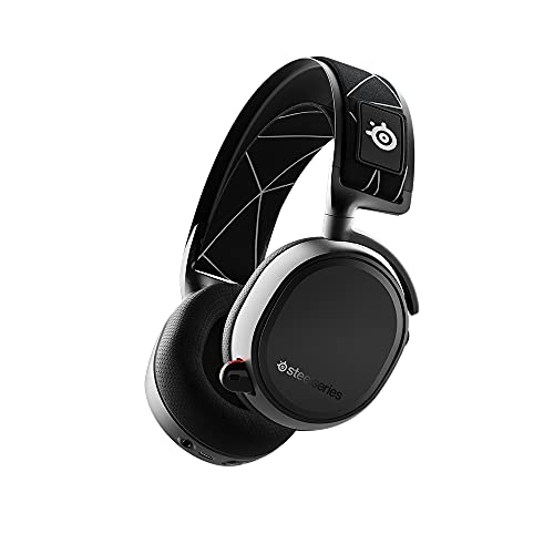 SteelSeries Arctis 9 - Casque Gaming Double sans Fil - Audio sans Fil 2,4 GHz sans Perte + Bluetooth - Pour PC, Playstation 5 et PS4