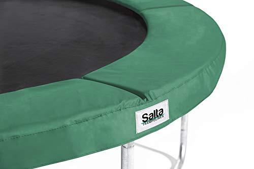 Salta trampoline 591P hoogwaardige beschermingsrand Pink 183cm 244cm groen