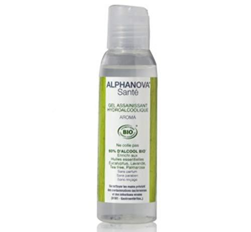Alphanova - Gel hydroalcoolique Neutral bio - 100 ml