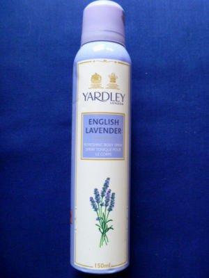Yardley of London English Lavender Deo for Women Deodorant Body Spray 150ml 5.1 Fl.oz