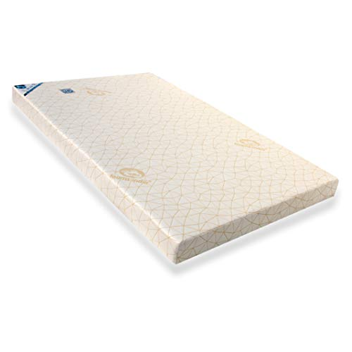 Foams India® 100% Natural Latex Foam®- Popular Mattress Multi Core Firm with Two Latex Elegant Pillows Free(24 BEM Worth Rs.1540) Size- 72 * 60 * 4 Inch