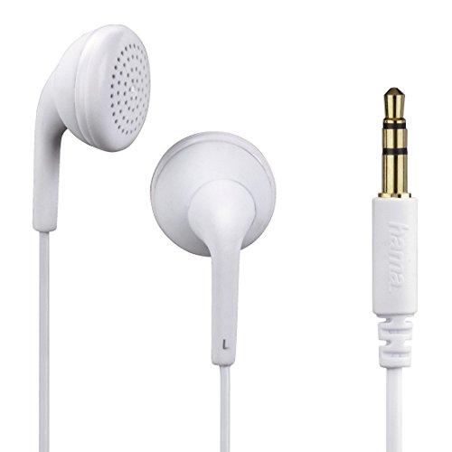 Hama HK-1106 im Ohr im Ohr Weiß - Kopfhörer (im Ohr, im Ohr, 3,5 mm (1/8