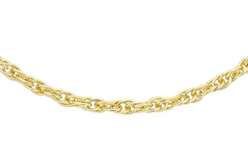 anello donna 750 Carissima Gold Collana Prince of Wales in Oro Giallo 18ct (750) - Unisex - 46cm