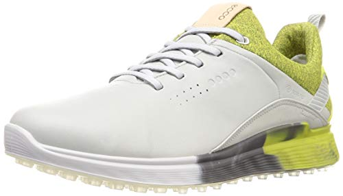 ECCO mens S-three Gore-tex Golf Shoe, Concrete, 10-10.5 US