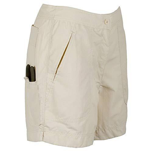 Guy Harvey Ladies Fishing Shorts, Natural, 10