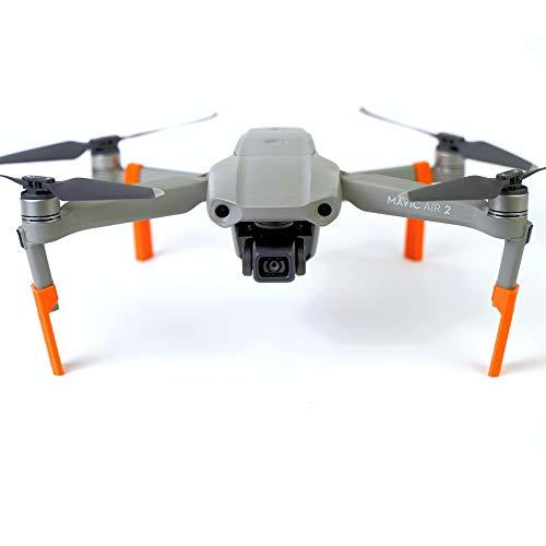 3dquad Landefüße, Landegestell, Fahrwerk für DJI Mavic Air 2 Drohne (orange)