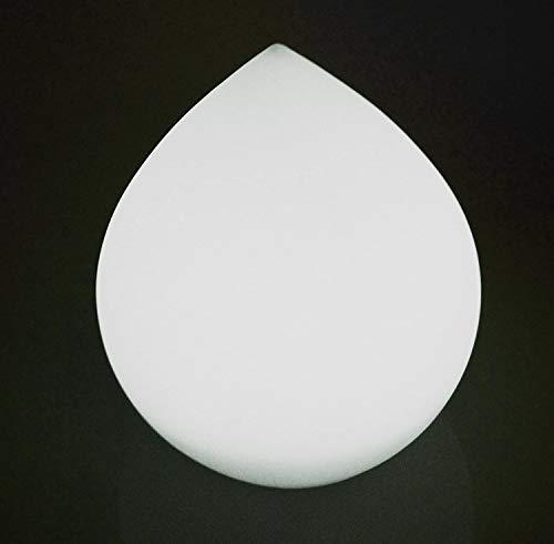 Telefunken Solar Drop 20 Gartenleuchte, Tropfen ca. 25 cm, mit sanftem Farbwechsel, sehr hell mit 0,8W, nachhaltig durch austauschbaren Akku, hohe Ladeleistung von 0,5W, wasserdicht