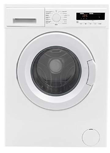 Teka | Lavadora Carga Frontal | Capacidad de 7 kg | 15 Programas de lavado | Eficiencia energética A +++ | 1200 rpm | Color Blanco | Dimensiones: 597 x 527 x 845 mm