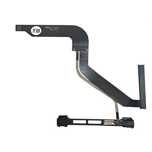 "TB Replacement HDD Hard Drive Cable with IR Sensor Hard Drive Bracket for Macbook Pro A1278 13"" 2012 Part # 821-1480-A (Only work with Model Year 2012)"