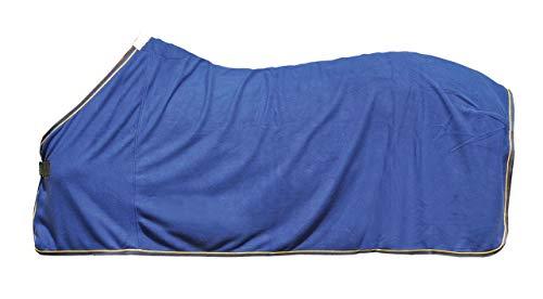 HKM Couverture anti-transpiration-7901 Bleu/Or 135