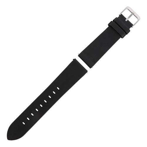 POPETPOP Pulseira de Couro Pulseira Pulseira de Substituição para Relógio de Couro para Homens Mulheres Compatível Com Huawei Relógio Gt1 / 2 Honor Magics Preto