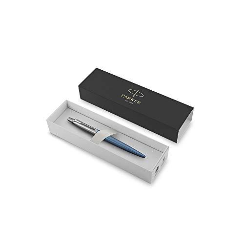 Confezione Regalo Parker 2025829 Jotter Penna a Sfera in Edizione Speciale Punta Media 0.7 mm Inchiostro Blu Black Postmodern