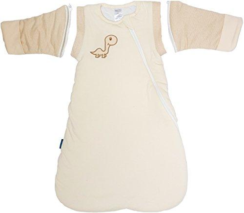 Jasper Baby Attachable Long Sleeves Winter Luna Wearable Blanket (Medium 6-14 Months)