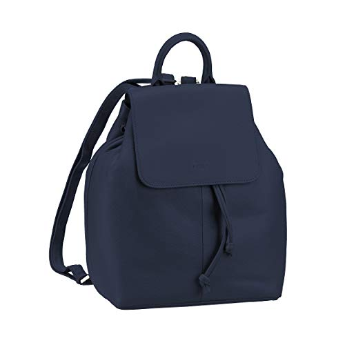 Picard City Backpack with Small Flap Luis Cuir 26 x 23 x 12 cm (H/B/T) Femme Sacs à Dos (8398)