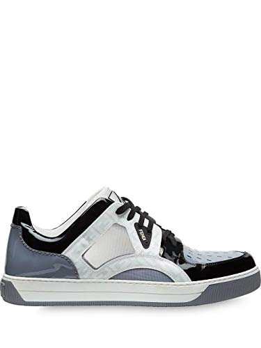 FENDI Luxury Fashion Herren 7E1204A8PHF183D Grau Sneakers | Jahreszeit Outlet