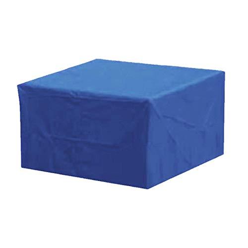 Cubierta de Mesa Rectangular, Patio Exterior 210D, Impermeable, Oxford, Fundas para Muebles de jardín, Anti-UV, a Prueba de Polvo, Grande, para Juego de Patio, para sofás y sillas de Mesa, 170 * 71 *