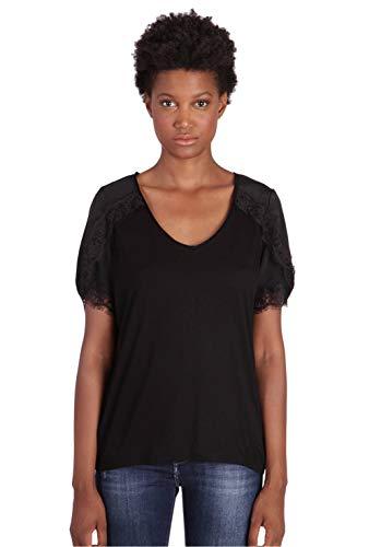 KAPORAL PAJE T-Shirt, Nero (Black W11), L Donna