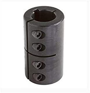 GMSCC-12-12-KW - 12mm X 12mm ID Split, KW Metric Clamp Coupling, STL, BO
