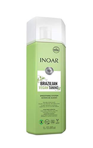 Inoar Tratamiento para alisar el cabello tanino vegano brasileño 1L