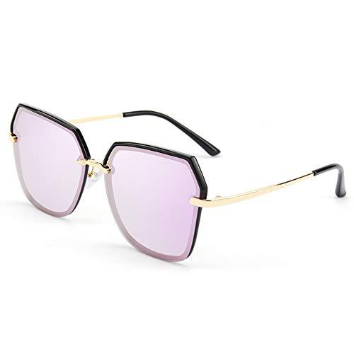 Faus Koco Gafas UV400 Purple for Mujer con Gafas De Sol Polarizadas