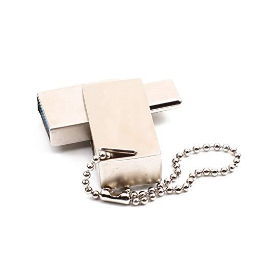PQXOER Unidad flash USB USB USB USB 3.0 Tipo-C Mini disco portátil U Pen Drive Almacenamiento de datos externo (tamaño: 32 gb; Color: Color de foto)
