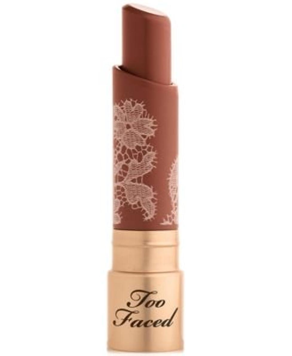 制限するアラブサラボ予定Too Faced Natural Nudes Intense Color Coconut Butter Lipstick Girl Code
