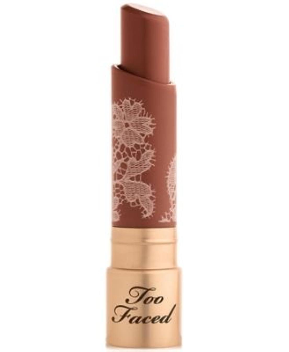 仕事カテゴリー繁殖Too Faced Natural Nudes Intense Color Coconut Butter Lipstick Girl Code