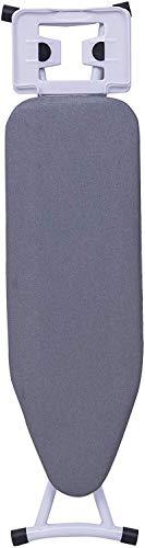 Multifunctionele Strijkplank Opvouwbare Strijktafel Klassiek met Betrouwbare IJzeren plank voor Stoomstrijkijzer Verstelbare Hoogte, Apink