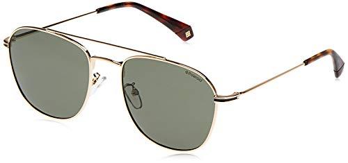 Polaroid PLD 2084/G/S gafas de sol, ORO, 57 para Hombre