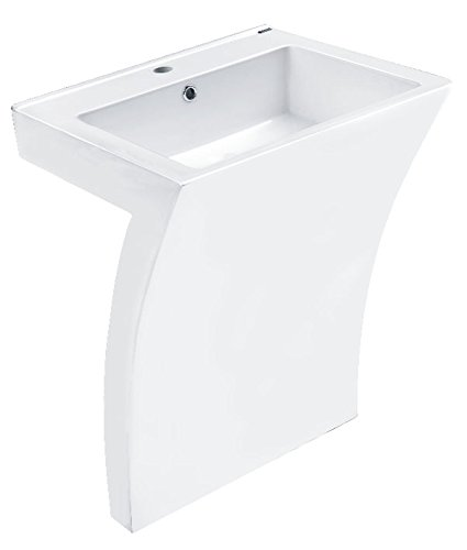 Cornat 4035300726103 New Wave Seven Waschtisch Set, 1 Stück 56 cm, weiß