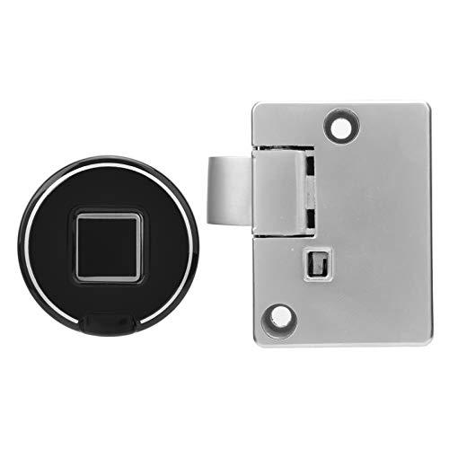Kit de cerraduras para gabinete con huellas dactilares, cerradura electrónica para gabinete, desbloqueo rápido inteligente antirrobo sin llave para el hogar, la oficina, para el hogar, la escuela, la