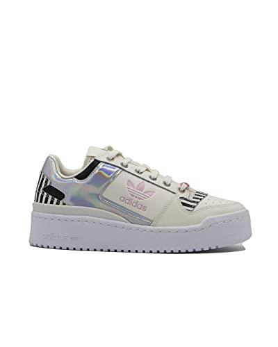 adidas Forum Bold W, Zapatillas Deportivas Mujer, Off White True Pink Core Black, 38 EU