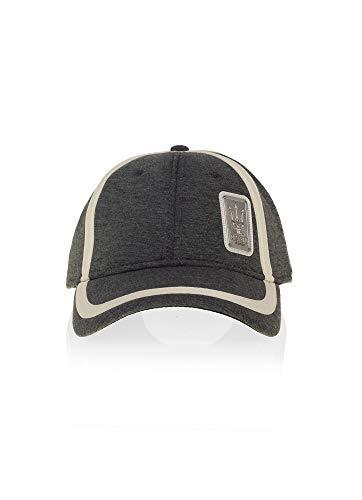 MASERATI Original Cap anthrazit weiß Mütze Baseballcap