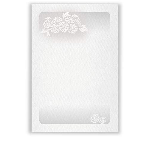 高級紙 私製 喪中はがき 文例印刷入 20枚 デザインNo.030(無地)