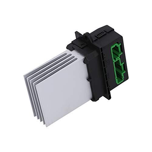 Resistencia de ventilador de aire acondicionado, resistencia de ventilador de calentador de peso ligero de elección ideal, accesorios de calidad para conductor de automóvil