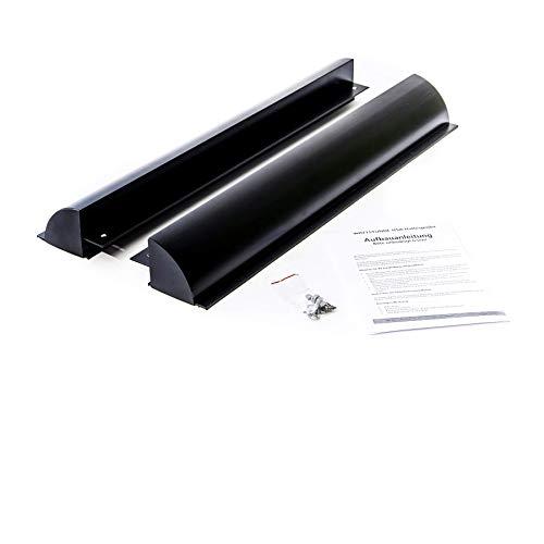 WATTSTUNDE Solarmodul Haltespoiler Dachbefestigungen Dachdurchführung aus Aluminium (HSA68/S)