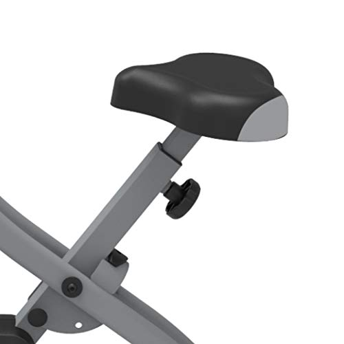 Fit4home ES-892 Fitness Exercise Bike Fold-able LCD Display Pulse Sensors Black Grey
