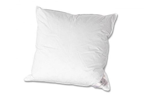 Brinkhaus-Silvercrown Kissen Silvercrown Arktis medium Daunen/Feder weiß Größe 80x80 cm
