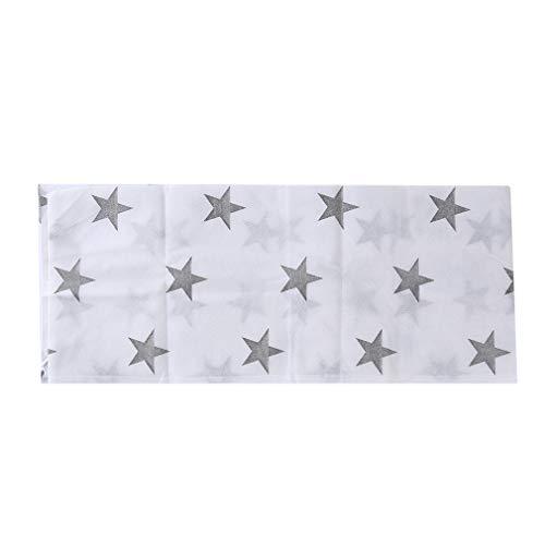 Yinew - Borsa per Tappetino da Yoga con Chiusura a Cordoncino, in bambù, Tessuto Non Tessuto, Star, As Description