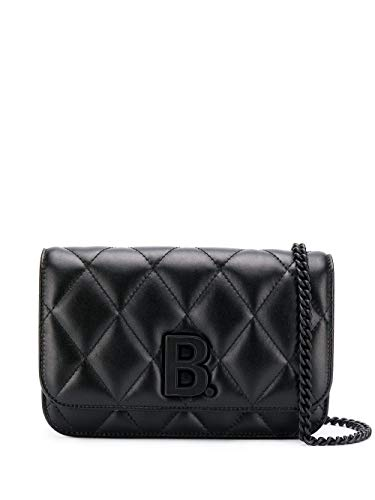 Luxury Fashion   Balenciaga Dames 5936151NH571000 Zwart Leer Schoudertassen   Lente-zomer 20