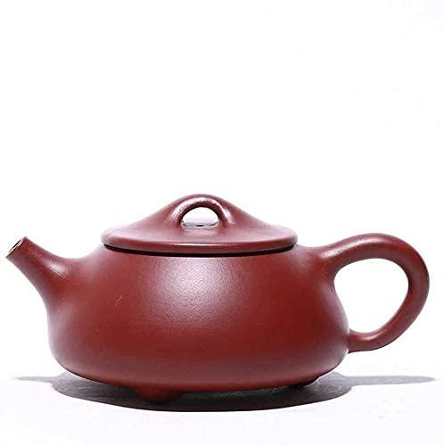 Teiera in vera argilla nera Zisha Shipiao Pot Infuser Loose Tea